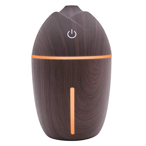 Essential Oil Diffuser Aroma Essential Oil Cool Mist Humidifier USB Adjustable Mist Mode Corn humidifier 5 Color LED Lights Changing for Home Office Baby