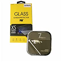 Glass Pro Explosion-proof Tempered Glass Screen Film Protector for iPhone 7 plus, with EXTRA camera protector OEM 2-pack LIMITED OFFER