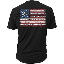 2nd Amendment Brand Vintage American Flag Mens T-Shirt USA Second 2A
