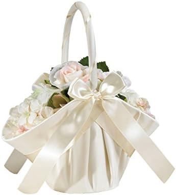 Lillian Rose Elegant Flower Basket