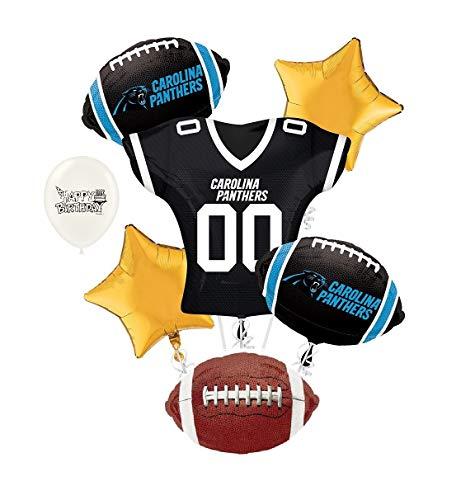 Carolina Panthers NFL Football Party Balloon Bouquet Bundle]()