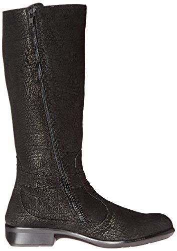 Womens 26016 Noir Viento Leather Long Naot Boots 6xd7w6