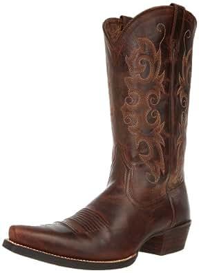 Ariat Women's Alabama Western Cowboy Boot, Sassy Brown, 5.5 M US
