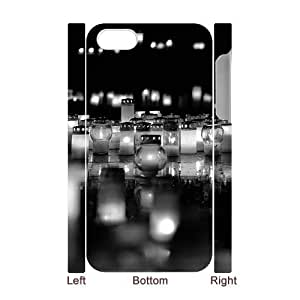 3D Grave Candle 2 IPhone 4/4s Cases, Apple Iphone 4s Case for Man Hipster Protective Kweet - White