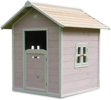EXIT Beach 100 Wooden Playhouse - Pink Casa de Juegos de Suelo - Casas de Juguete (Casa de Juegos de Suelo, Niño/niña, 3 año(s), Rosa, 10 año(s), Madera): Amazon.es: Juguetes y juegos