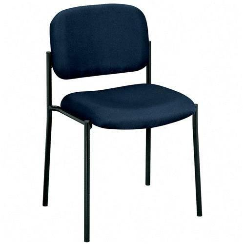 Basyx VL600 Series Armless Stacking Guest Chairs (Series Vl600)