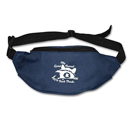 Elvira Jasper Unisex Racoon Fanny Pack Waist Bag Phone Holder Adjustable Running Belt for Cycling,Hiking,Gym]()