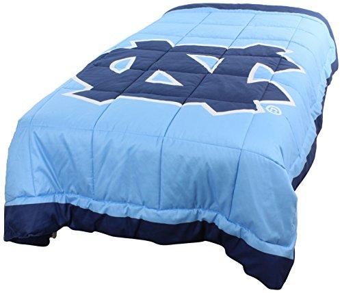 College Covers North Carolina Tar Heels 2 Sided Reversible Comforter Queen (Unc Comforter Set)