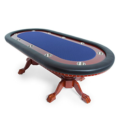 41Mops9OPqL - BBO-Poker-Rockwell-Poker-Table-for-10-Players-with-Speed-Cloth-Playing-Surface-94-x-44-Inch-Oval-Includes-6-Dining-or-Lounge-Chairs