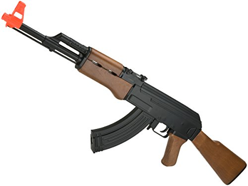 Evike - CYMA CM022 AK47 Full Size Low Power Airsoft AEG Rifle (Model: AK47 Standard)