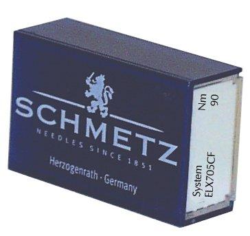 SCHMETZ ELX705CF (Chrome Finish) Sewing Machine Needles - Bulk - Size 90/14 by Schmetz