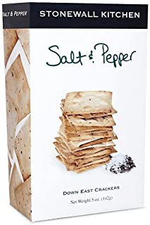 product image for Stonewall Kitchen Salt and Pepper Crackers, 5 Ounces