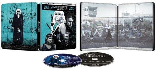 Atomic Blonde Exclusive Steelbook (Blu-Ray+DVD+Digital)