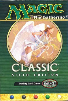 Magic the Gathering Classic Sixth Edition Two Players Starter Deck