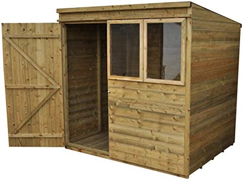Forest Garden 7x5 Tongue & Groove Garden Shed - Pressure