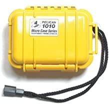 Pelican 1010 Yellow Micro Case With Yellow Lid