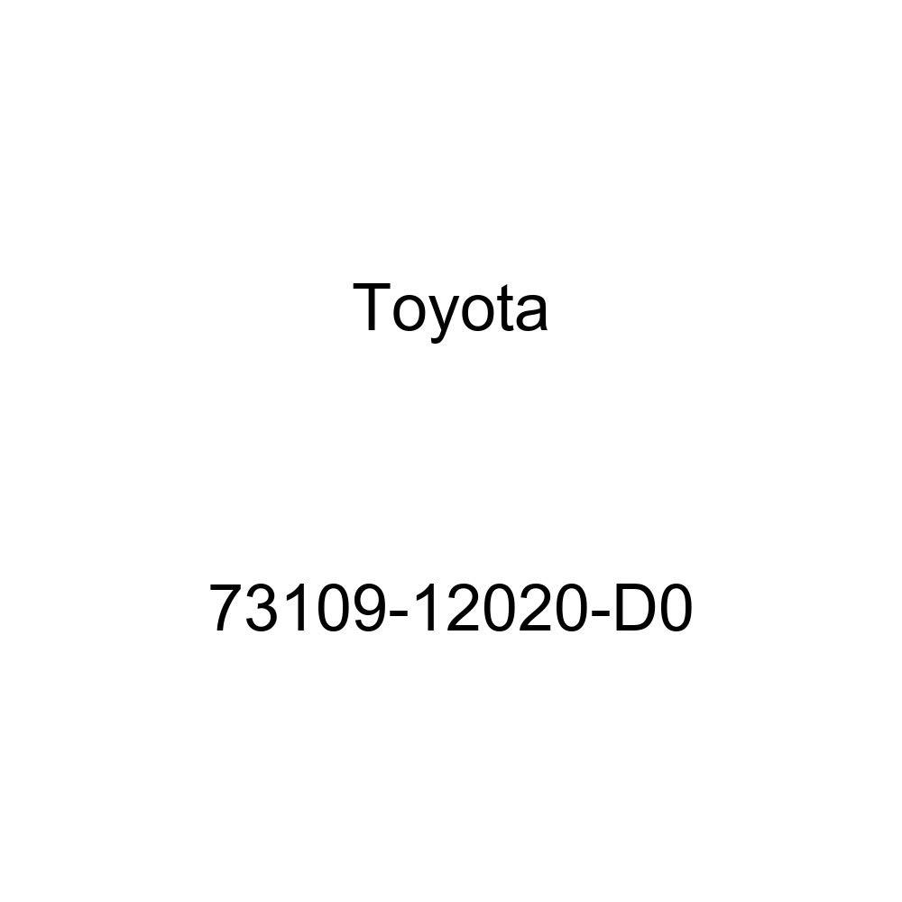 Toyota 73109-12020-D0 Shoulder Belt Buckle