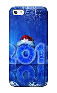 Iphone Case - Tpu Case Protective For Iphone 5/5s- 2012 Happy New Year Holidays by supermalls