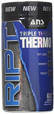 ANS Performance RIPT Triple Threat Thermogenic Fat Burner 60 Capsules