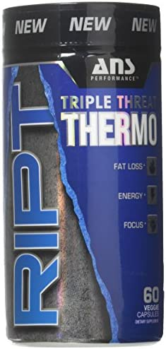 ANS Performance RIPT Triple Threat Thermogenic Fat Burner 60 Capsules
