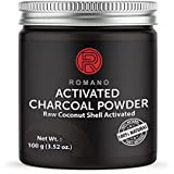 Activated Black Charcoal Powder Natural Teeth Whitening Toothpaste Strips Organic Raw Coconut 100g Shell Kits Food Grade Highest Quality Stain Remover Whitener Romano