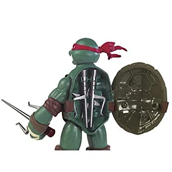 Teenage Mutant Ninja Turtles Battle Shell Raphael Action Figure 8
