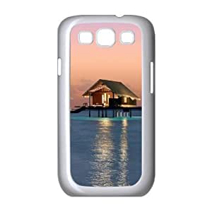 Beautiful Maldives Customized Cover Case with Hard Shell Protection for Samsung Galaxy S3 I9300 Case lxa#469705