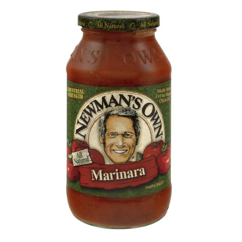 Newman's Own Pasta Sauce Marinara, 24-Ounce (Pack of 6) ()