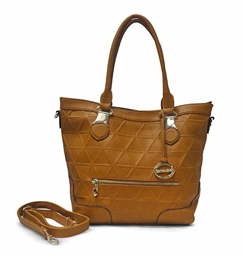 (In Style Sorrentino Sori Collection No. 720 Large Travel Tote (Camel))