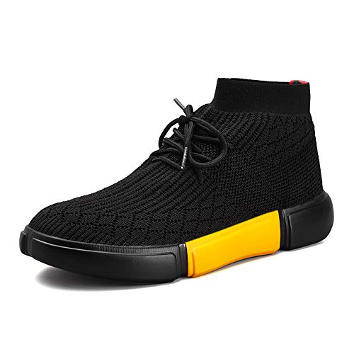 Liuxc Turnschuhe Sportschuhe, Herrenschuhe, Fliegende Sportschuhe, Gewebte Schuhe, Sportschuhe, Fliegende hohe Schuhe, Füße, Bequeme Herrenschuhe 972b2c