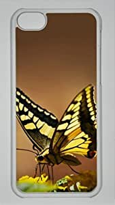 CSKFUBeautiful butterfly customized Hard iphone 6 4.7 inch iphone 6 4.7 inch PC transparent Case