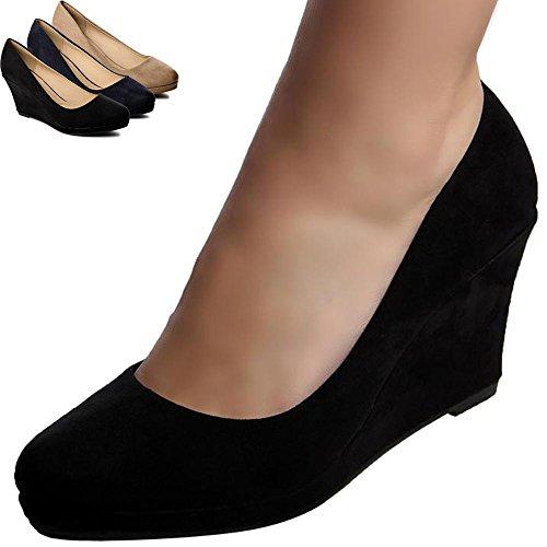 topschuhe24 - Zapatos de vestir para mujer Beige - beige