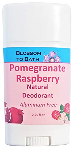 Blossom to Bath Natural Deodorant, Pomegranate Raspberry (2.75 ounce) ()