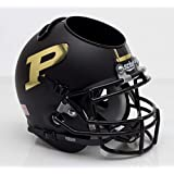 Schutt NCAA Purdue Boilermakers Football Helmet Desk Caddy