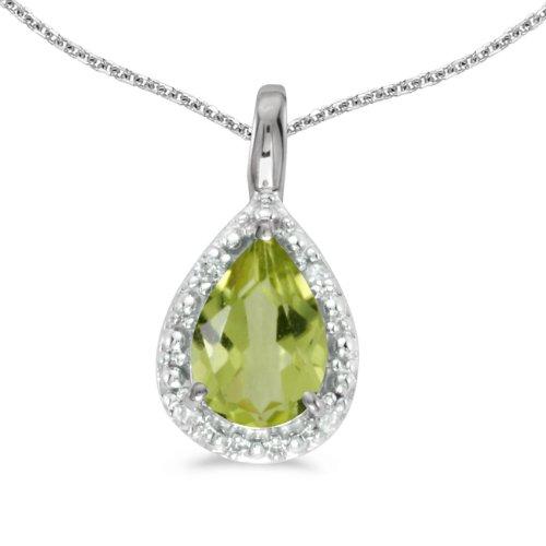 0.60 Ct Pear Diamond - 9