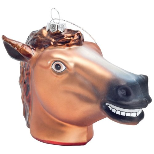 Accoutrements Creepy Horsehead Ornament