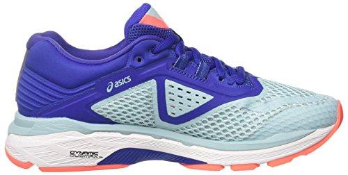 6 2000 Running Porcelain de Mujer Asics Zapatillas Gt Multicolor Asics 1414 Para Blue Blue Porcelain Blue pEqwUU