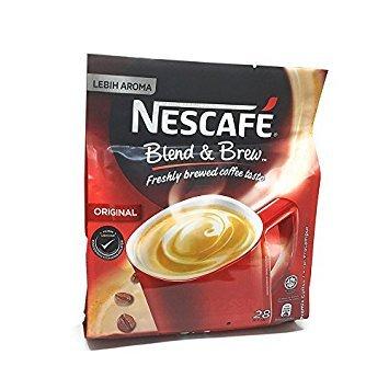 4 PACK Nescafe 3 in 1 Original Blend & Brew 112 Sticks in Total (Drink 1)