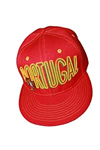 Portugal Red SNAPBACK HIP HOP Hat Cap .. FIFA Soccer World Cup .. New