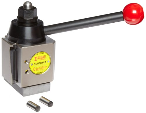 Dorian Tool SDN Chromium Molybdenum Alloy Steel Super Quick Change Tool Post with Triple Action Locking System, 13