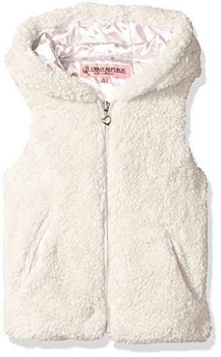 Urban Republic Girls Ur Faux Fur Vest