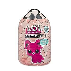 Lol Surprise L.O.L. Surprise Fuzzy Pets Ball-Series 5-1A, Mascotas, Sorpresa, Color Rosa MGA MGA55711