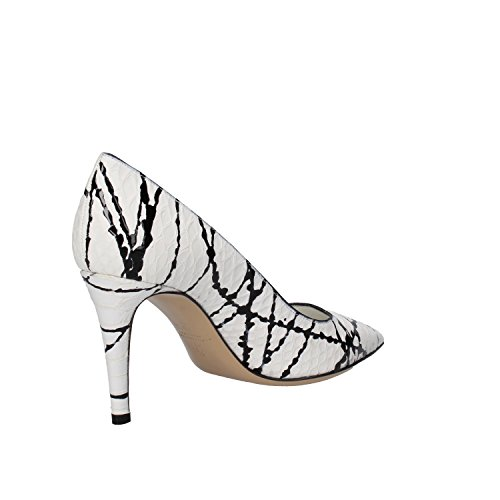 Dei Mille - Zapatos de vestir para mujer blanco blanco / negro 36,5/37/37,5/38/39/39,5
