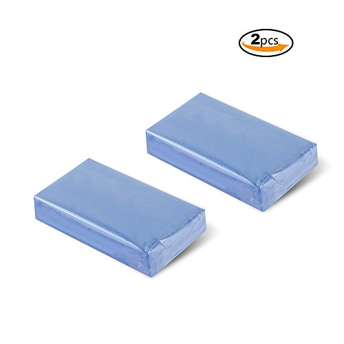 YGDZ Top Quality 2pcs Car Clay Bar 100g Auto Detailing Magic Claybar Cleaner Shipping by FBA Auto Detailing Clay