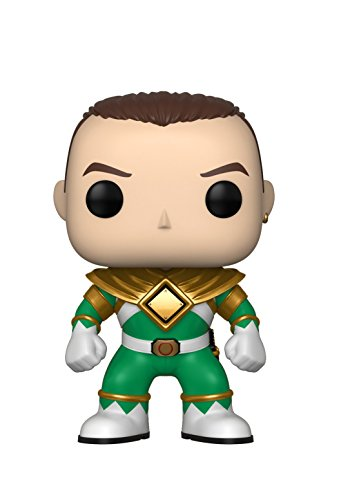 Funko Pop Television: Power Rangers - Green Ranger (No Helmet) Collectible Figure, Multicolor (Mighty Morphin Power Rangers Tommy Green Ranger)