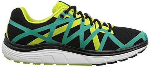 Pearl iZUMi Men EM Road H3 v2 Running Shoe Black/Dynasty Green
