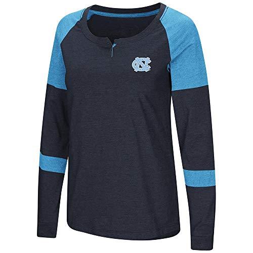 Unc Womens Basketball - Colosseum Womens UNC North Carolina Tar Heels Long Sleeve Raglan Tee Shirt - L