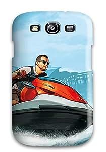 Galaxy S3 Case Bumper Tpu Skin Cover For Grand Theft Auto V Cash Carry Accessories