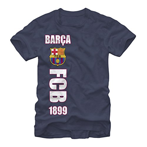 FC Barcelona Side Logo Mens Graphic T Shirt