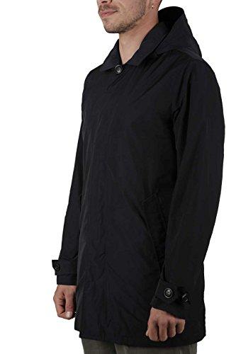 Car coat Blu Rimovibile Uomo Summer Impermeabile Woolrich 324 Cappuccio Spring Wocps2558 Navy Club Con 4xw8Hfn